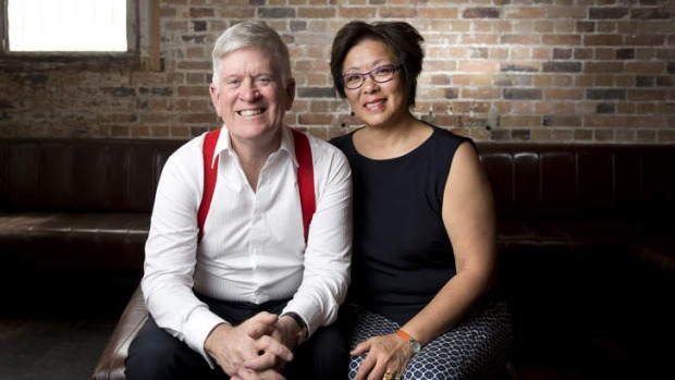 Founder of Mantle Group Godfrey Mantle and co-owner Jenny Mantle have been involved in Brisbane's hospitality industry for over 33 years.