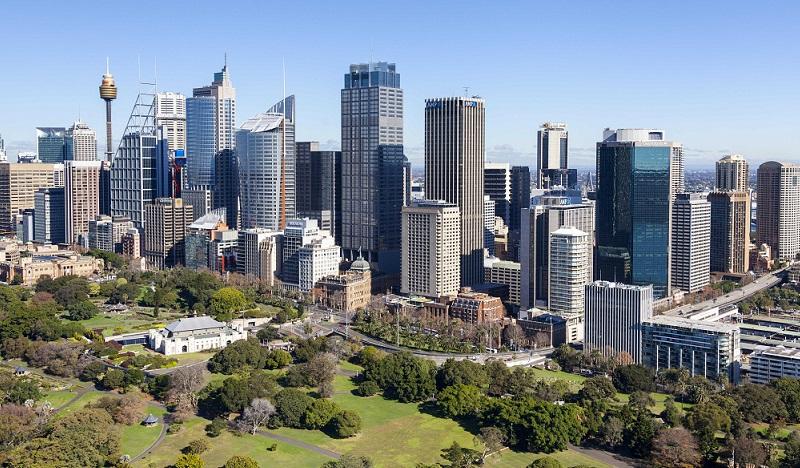 City of Sydney supertall buildings