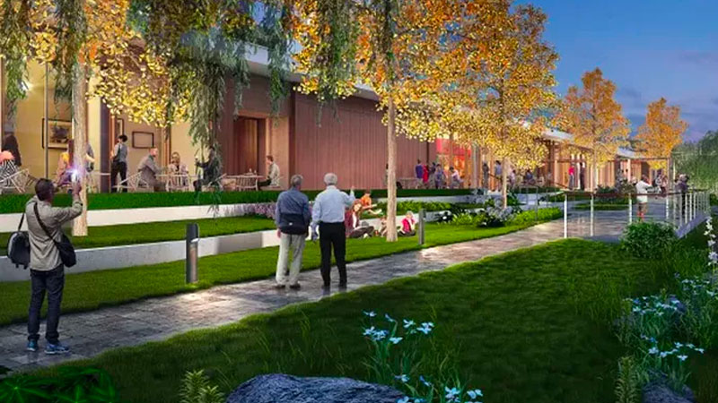 ▲ An artists impression of the planned retirement village in Shanghai which will be built and operated by Lendlease.