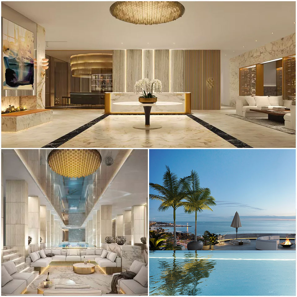 ▲ Saint Moritz' first two of the three buildings, Pacific House and Azura, have sold out. Grand Esplanade (pictured above) was quietly launched to a number of Gurner's VIP clients. Image: Gurner