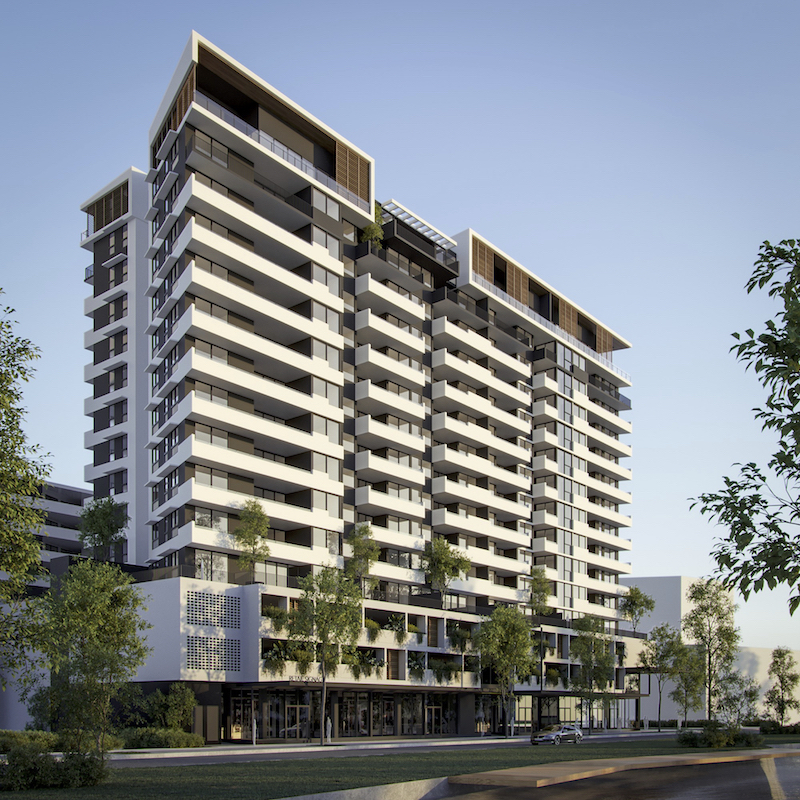 ▲ The Corso Residences will be a $94m project consisting of a mix of 1, 2 and 3 bedroom apartments over 15 stories.