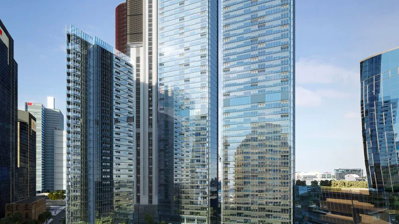 Three Towers at One Sydney Harbour part of Lendlease Development Pipeline