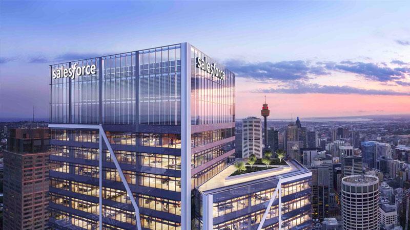Lendlease Development Pipeline Sydney Place Salesforce Tower
