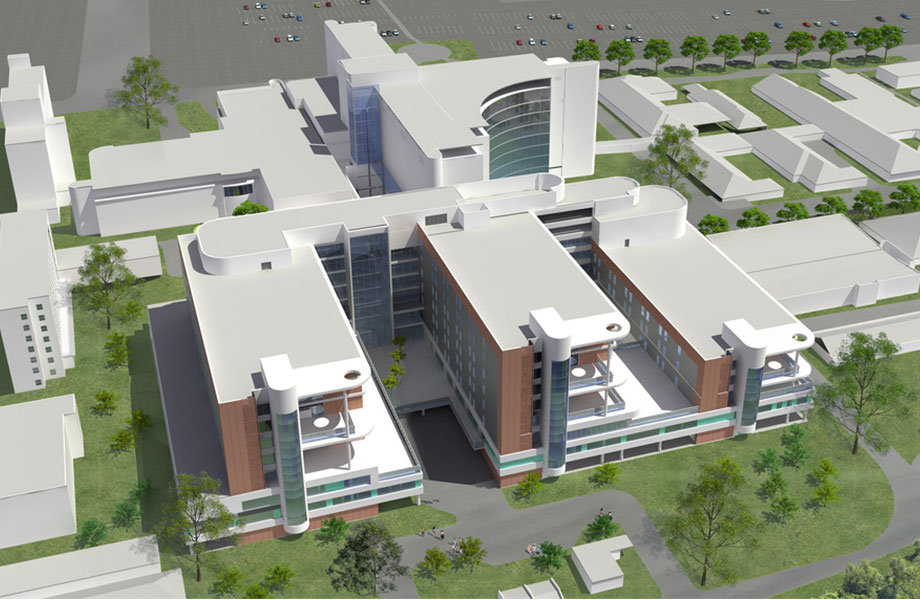 Roberts Pizzarotti will work with Hayley Bell, the Health Infrastructure team, Sydney Local Health District and Johnstaff Projects to deliver Stage one of the hospital redevelopment.