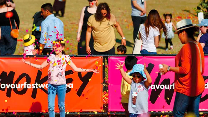 ▲ Flavour Fest music & food festival at the new community of Wooldea by VIP and Mirvac