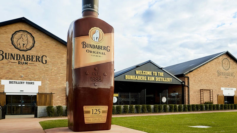 ▲ Bundaberg Rum joins distilleries across Australia making hand sanitiser amid coronavirus.