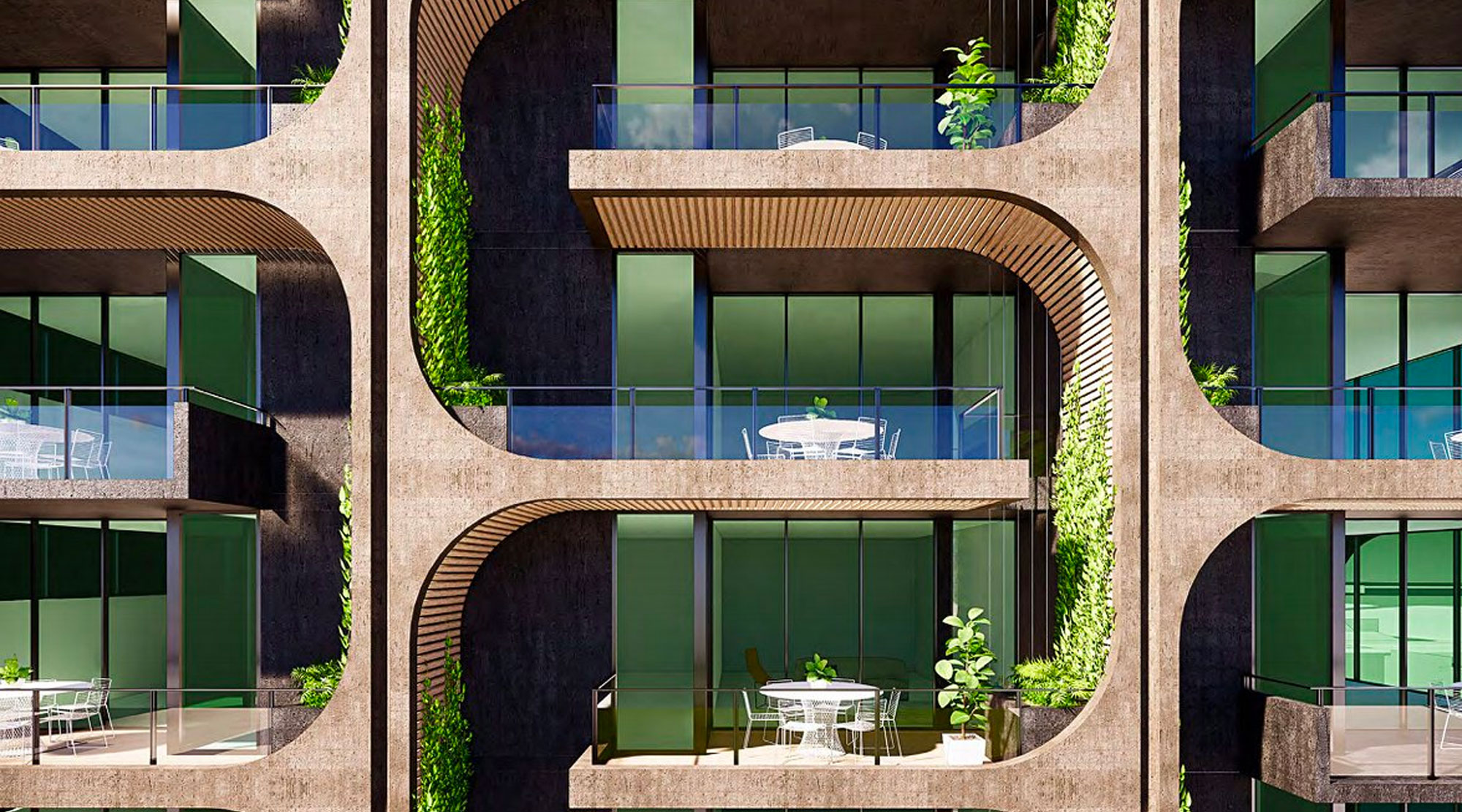 ▲ Aria Property Group's 107-117 Jane Street proposal for Brisbane's West End. Image: Aria Property Group