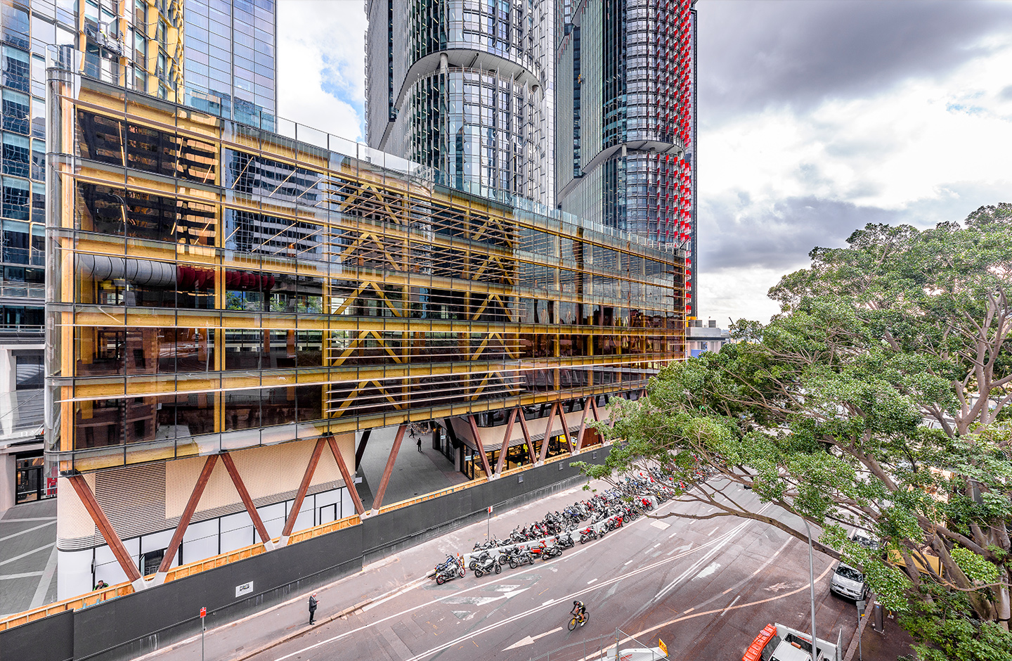 Projects like Lendlease's International House in Sydney prove CLT's environmentally-friendly potential.