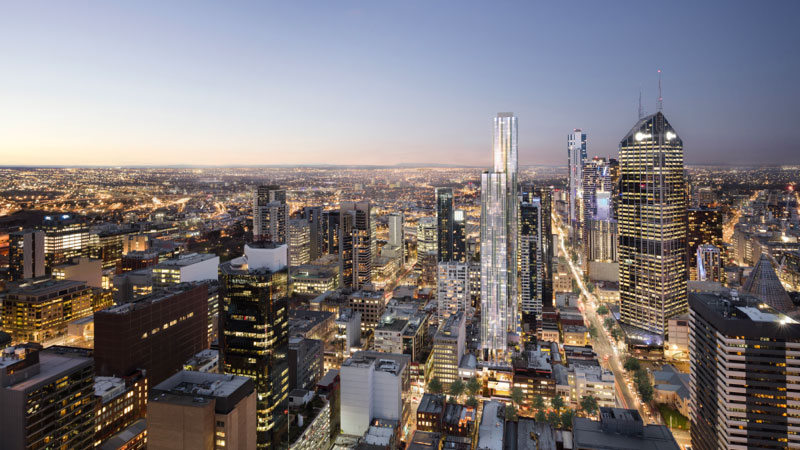 Melbourne major development project 380 Melbourne Brady Group