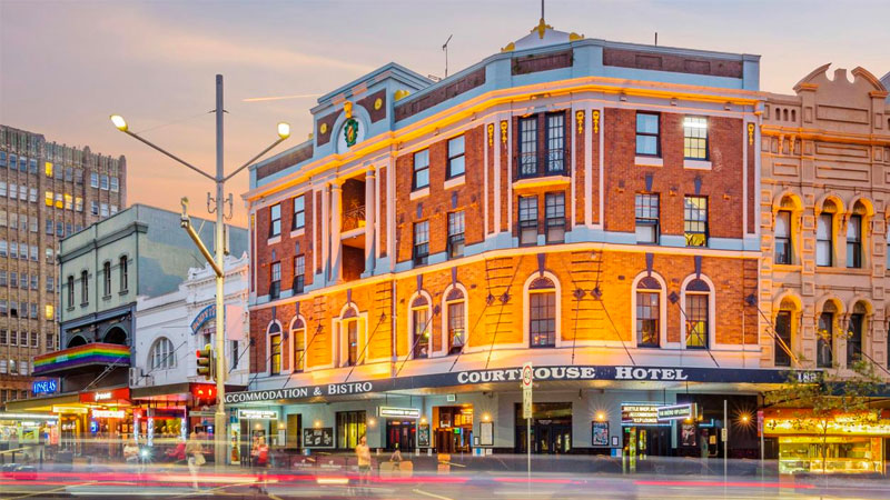 The Courthouse Hotel sold for $22m.