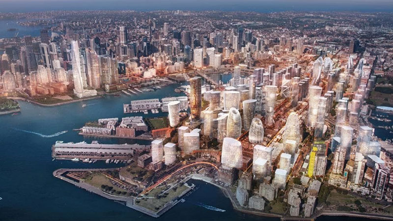 Urban Taskforce released this 20-year vision for Pyrmont last year, saying Sydney's CBD should be extended into Pyrmont.