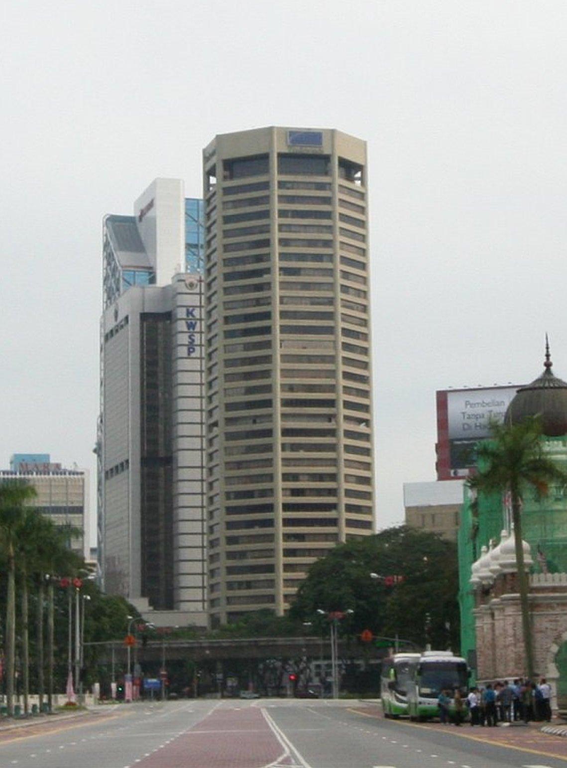 The 35-storey Menera Tun Razak was completed in 1983.