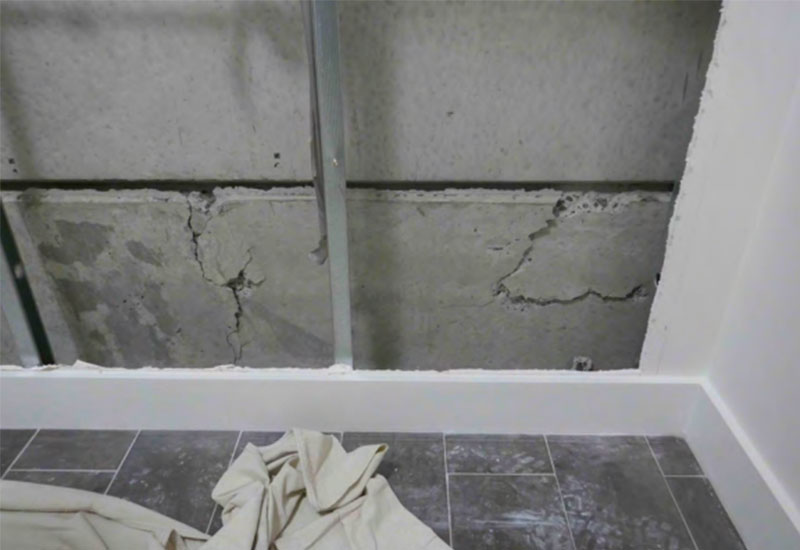 "The worst of the damage was found on levels 10 and 4 where cracking occurred at a ""connections between prefabricated and in situ poured concrete""."