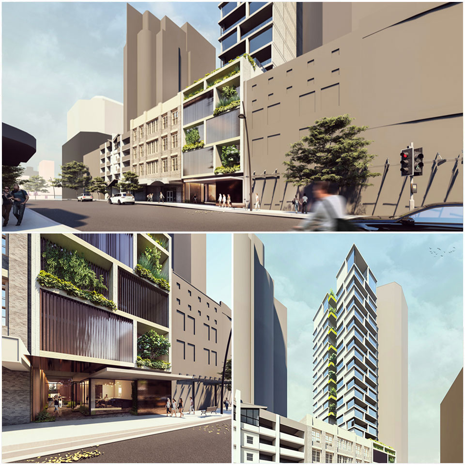The Di Marco Group are looking to develop a high-end boutique residential building with one apartment per floor.