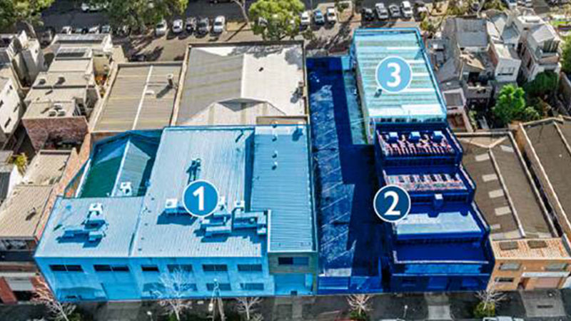 Colliers International's Matt Stagg, Oliver Hay, Anthony Kirwan and David Walker are appointed to sell the three West Melbourne properties spanning a total site area of 1,668sq metres.