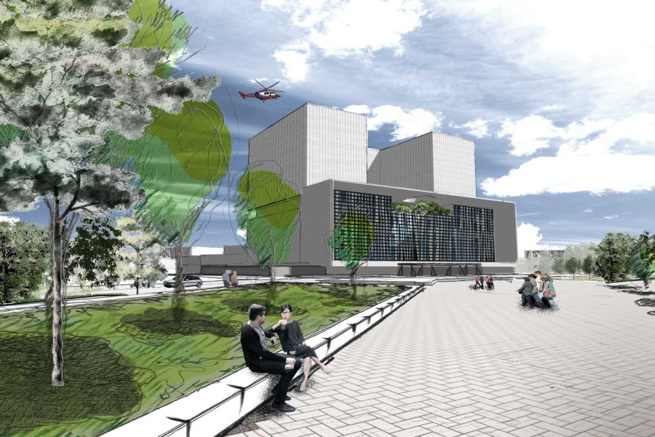 Artist impression of the Nepean Hospital redevelopment