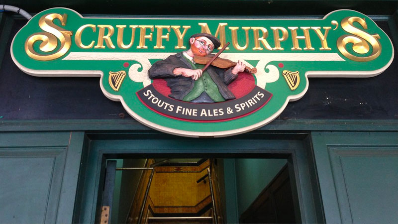 ▲ Scruffy Murphy's at 43-49 Goulburn Street in Haymarket has been listed along with 698-704 George Street and 51-57 Goulburn Street.