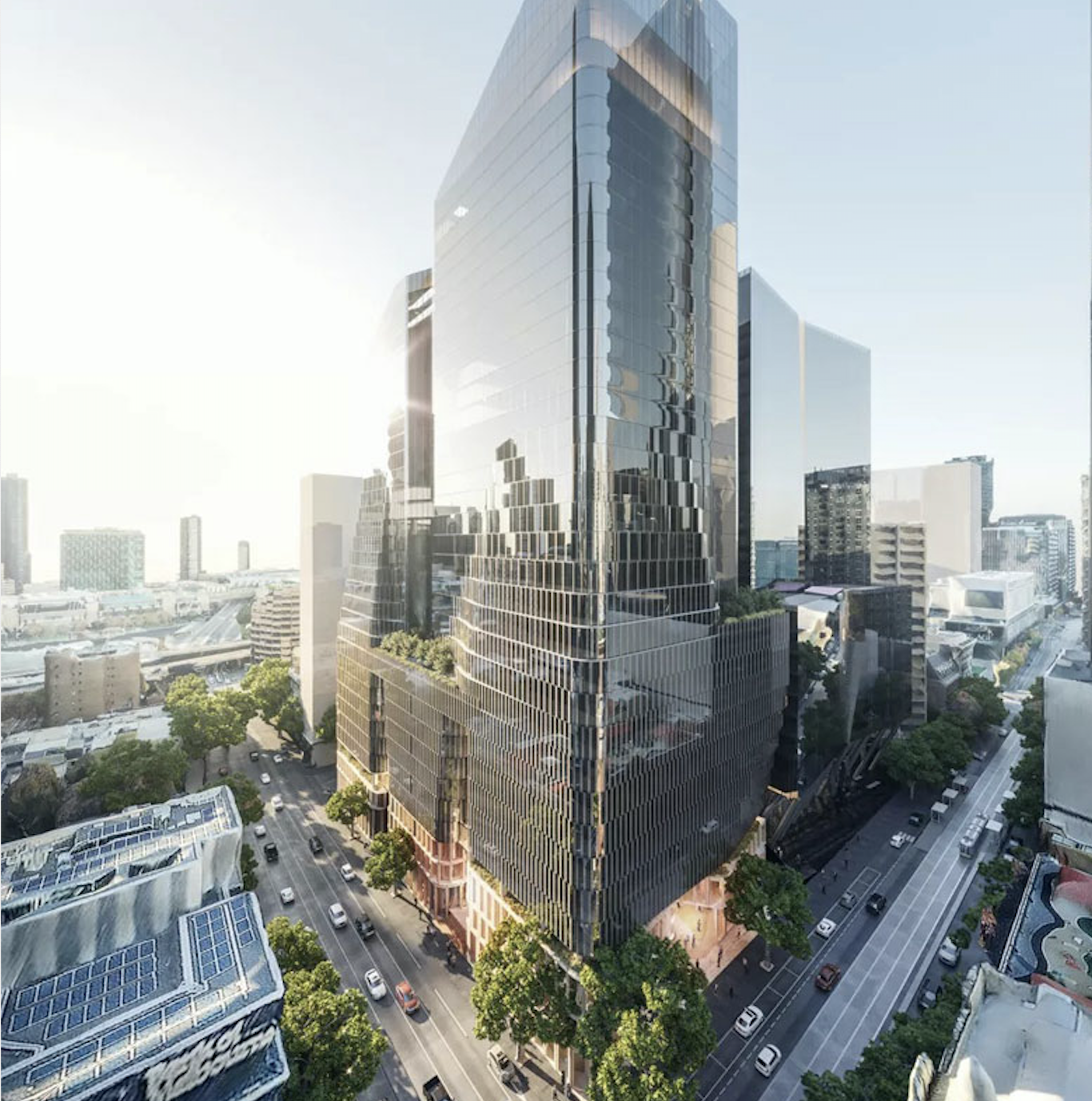 """The towers Charter Hall plans to develop, totalling 80,000sq m, will be tech-heavy, integrating """"smart"""" technology with research on connected workplaces."""