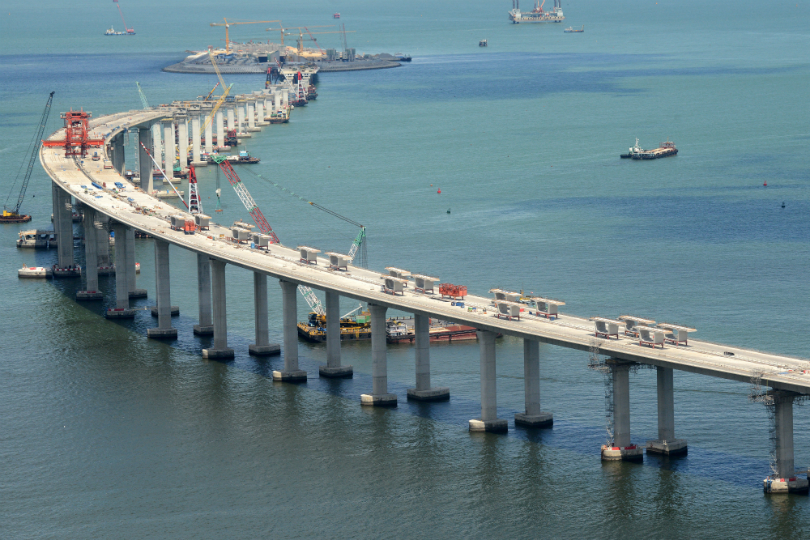 The Hong Kong-Zhuhai-Macau Bridge is expected to last 120 years and reduce the travel time by 60 per cent.