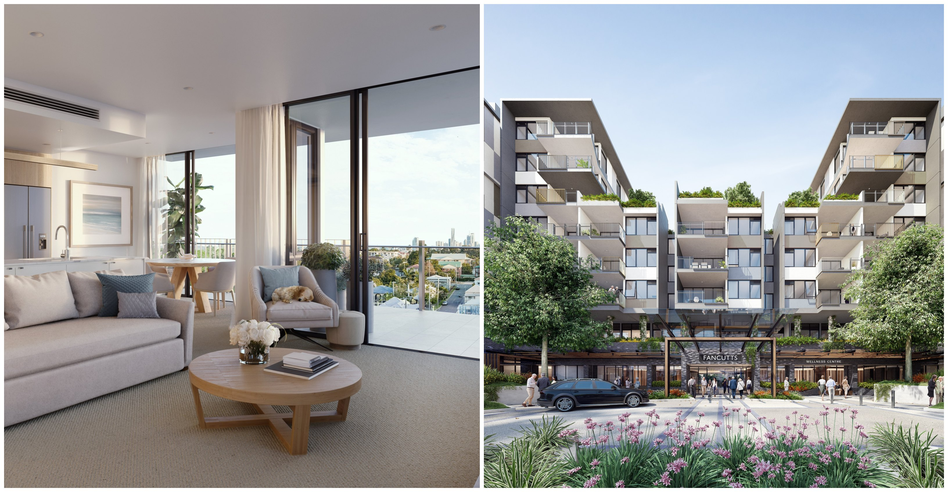 RetireAustralia's plans for a vertical retirement village set on the Fancutts Tennis Centre site in Brisbane's inner-north.