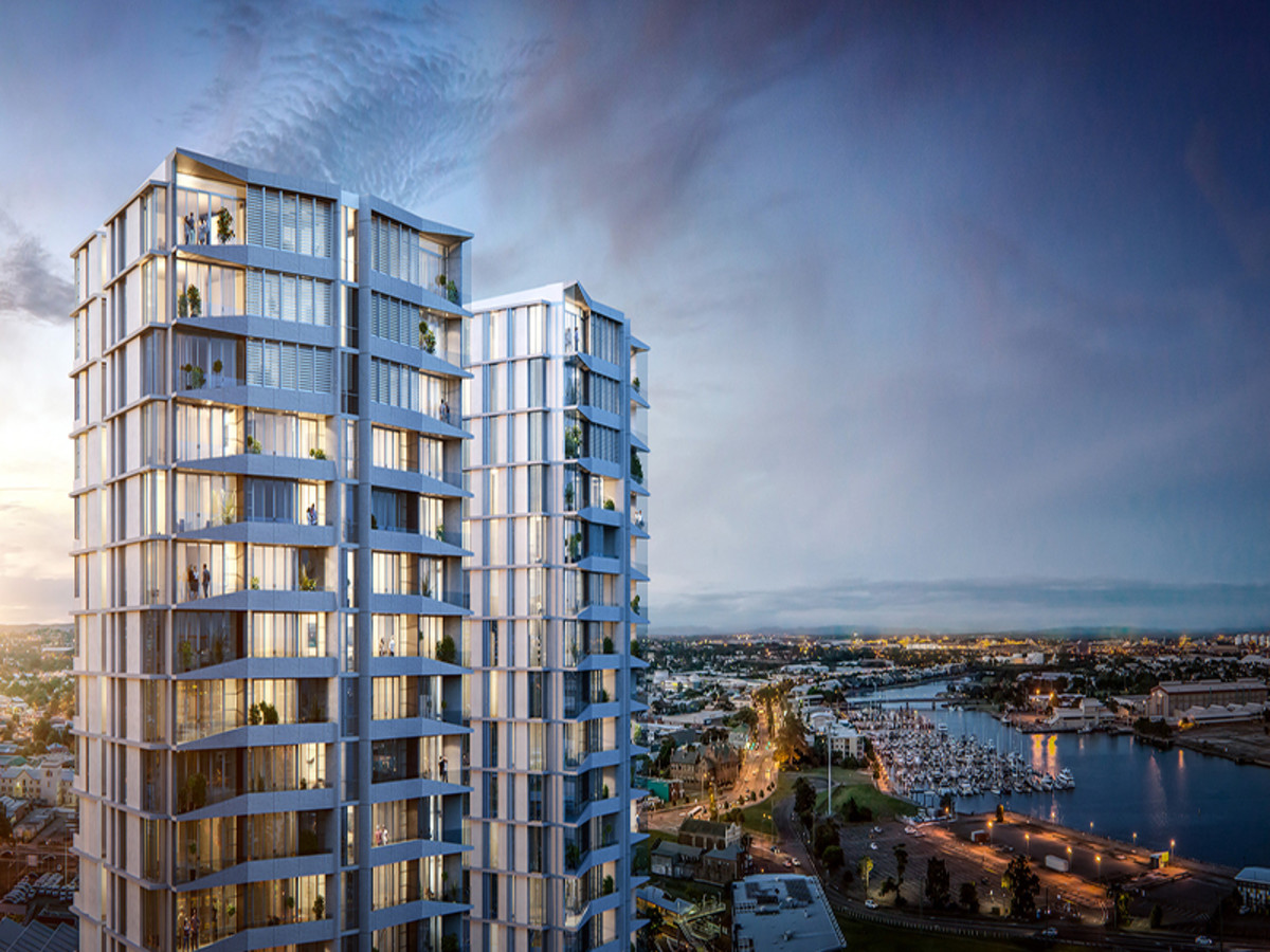 Due to be completed in mid-2019, the Verve Residences will be the tallest building in Newcastle. The $130 million development will reach 19-storeys and is being developed by Miller Property Corporation.