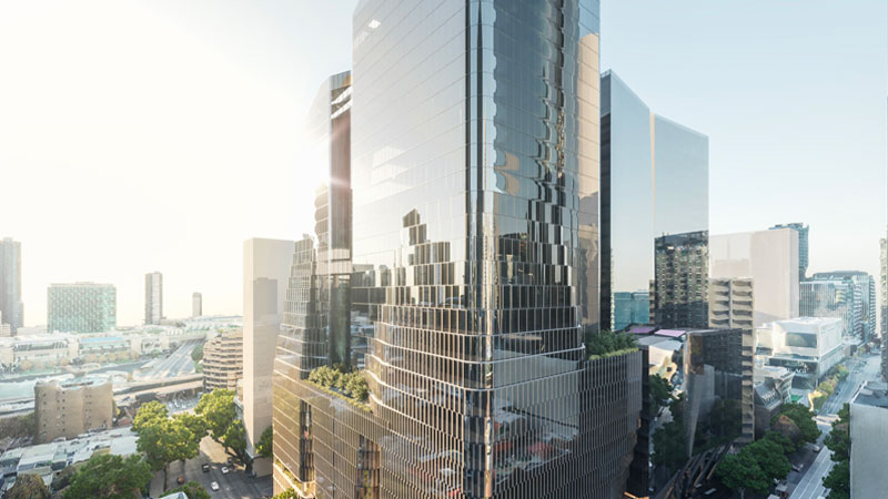 Melbourne major development project 555 Collins Street by Charter Hall