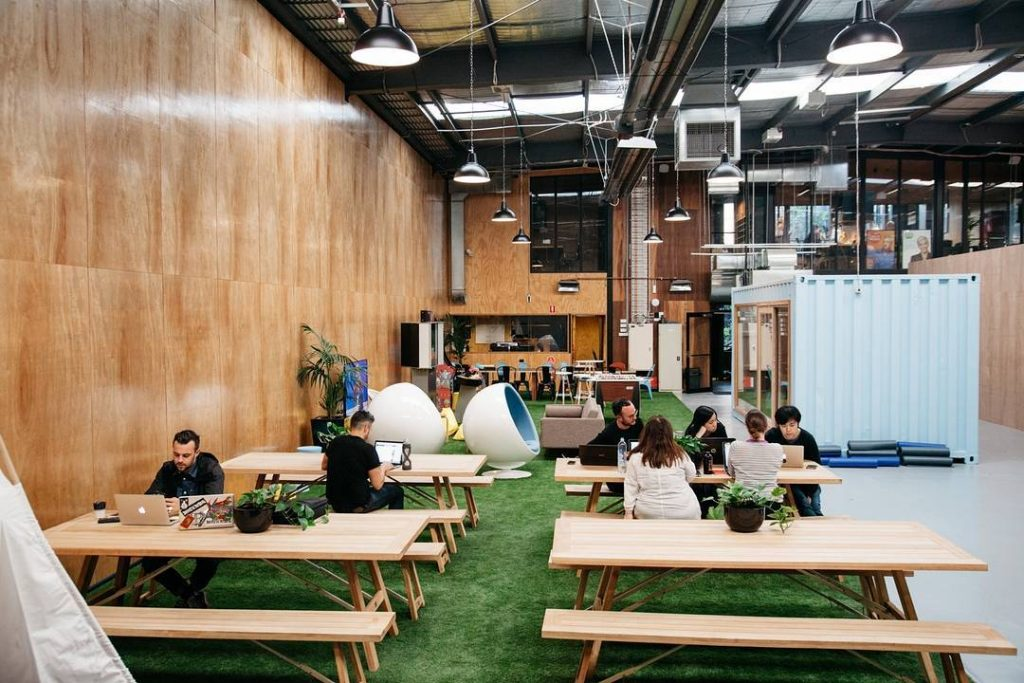 Spread across two locations, The Commons is one of the most popular coworking spaces in Melbourne.