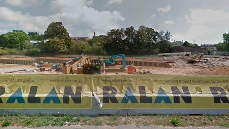 ▲ The group's current project is 213 Princes Highway in Sydney's suburb of Arncliffe is currently under constriction.