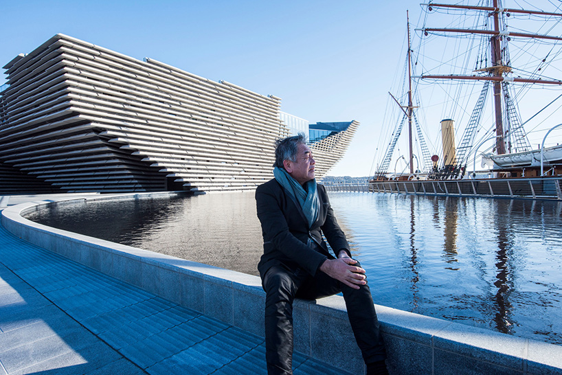Kuma's V&A Museum of Design Dundee in Scotland (pictured) is due to open in September 2018.