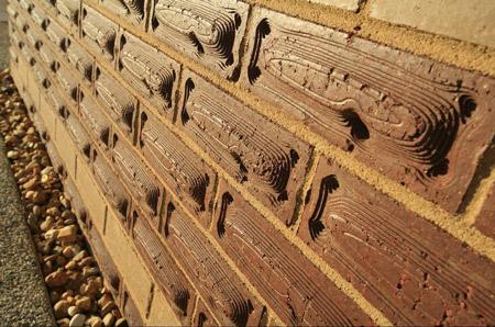 Brick Designed like Timber for Nursing Home