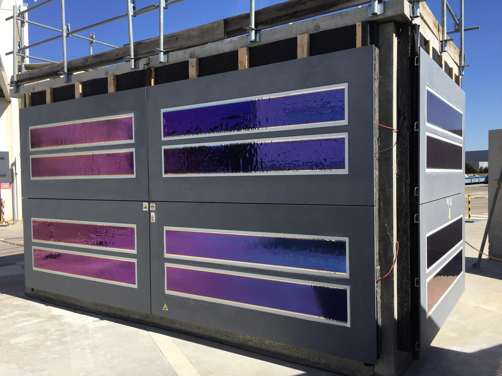 Photovoltaic facade