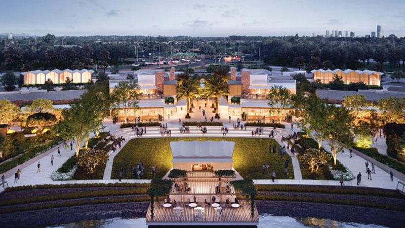 Sunland's plans for The Lanes shopping centre at Clear Island Waters