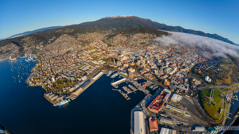 "▲ Strong migration as well as higher levels of investments – particularly from so-called seachange investors fleeing expensive housing in Sydney and Melbourne – and a much stronger economy had a hand in throwing out Hobart's ""affordable housing"" label."
