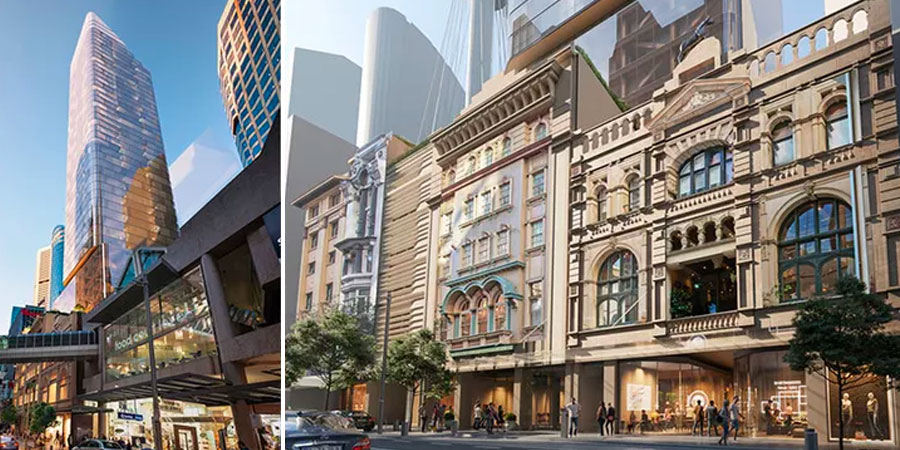 ▲ A residential and hotel project, at 194 - 204 Pitt Street, has also been approved at the Club site in Sydney CBD.