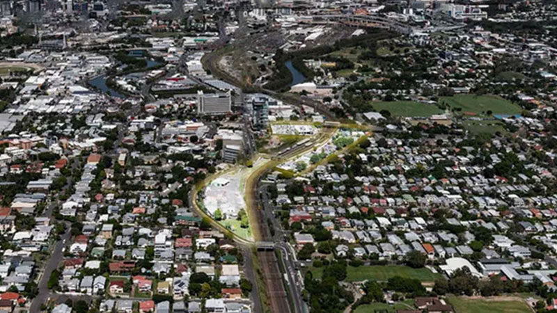 ▲Geon Property gets development approval for stage one of Albion Exchange, Brisbane's latest Transit-Oriented Development in one of Brisbane's city fringe suburbs, Albion.