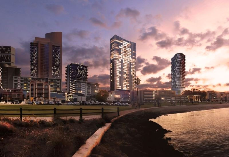 Peakstone Plans 35-Storey South Perth Tower