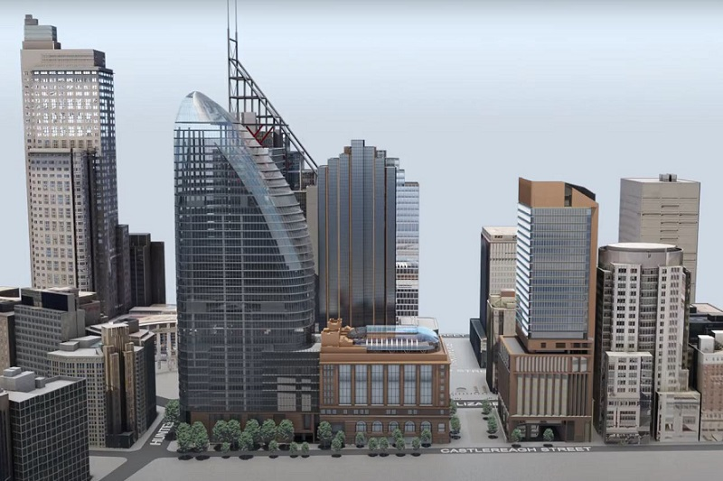 ▲ In 2018 Macquarie entered into an agreement with the NSW Government to deliver a new metro station at Martin Place as part of a new commercial, retail and public precinct.