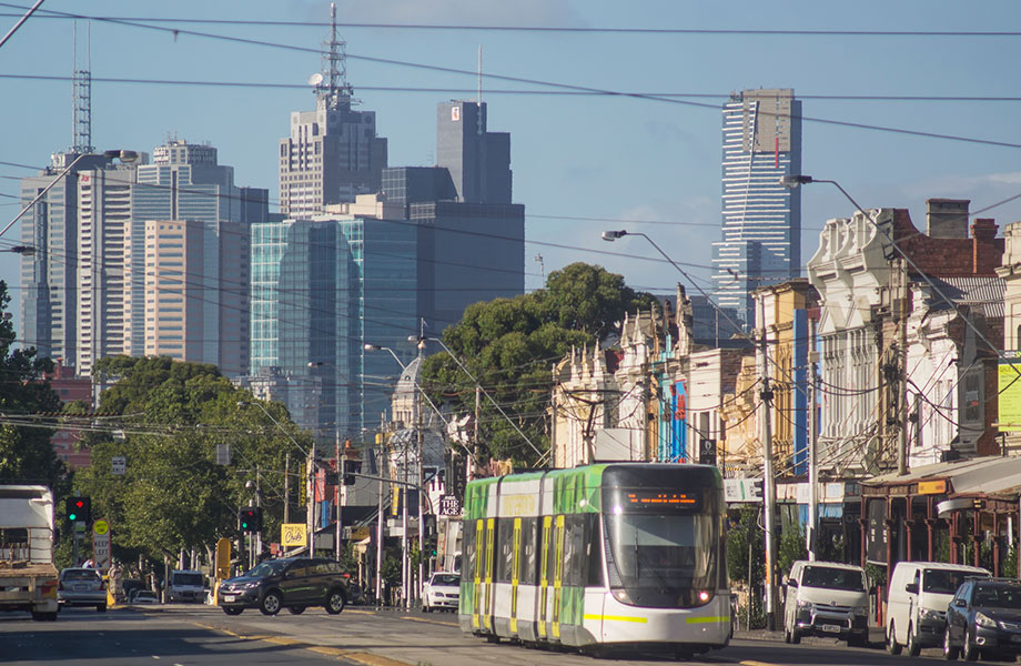 Melbourne asking prices took the biggest tumble in February, with a 2.3 per cent decline for houses and a 0.1 per cent drop for units.