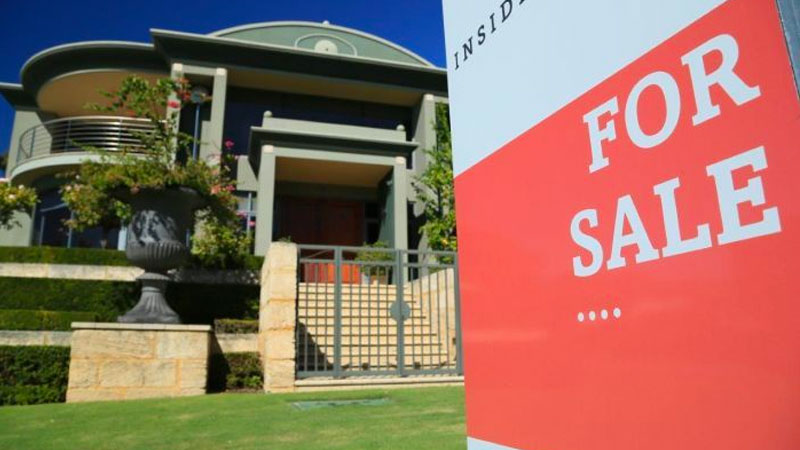 Australian residential property prices to fall by 10 per cent over the next six months.