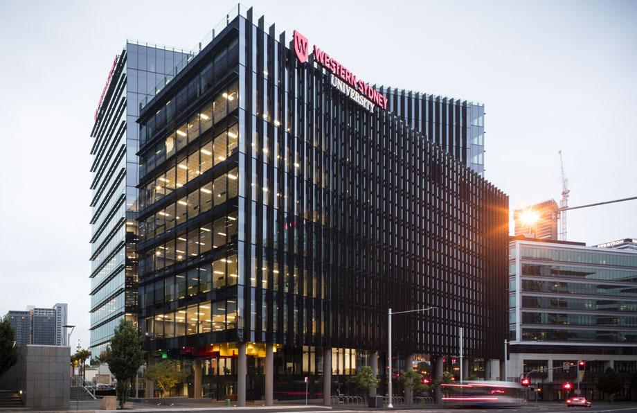 Western Sydney University's new Parramatta CBD campus, 1PSQ,
