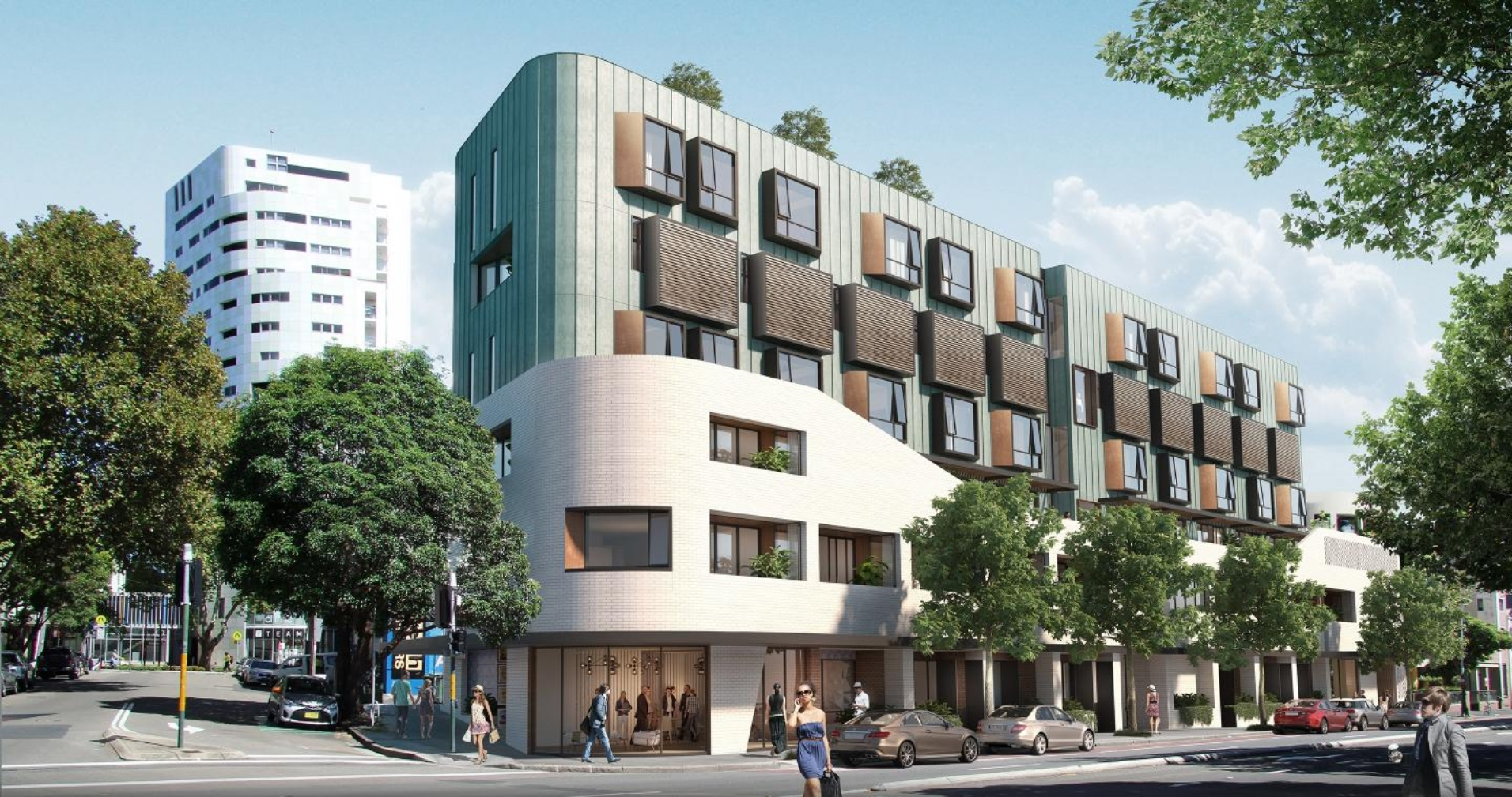 The Flinders Street development will comprise 18 double storey dwellings, 10 single storey dwellings, with seven of the dwellings including private rooftop courtyards, along with a common rooftop courtyard.