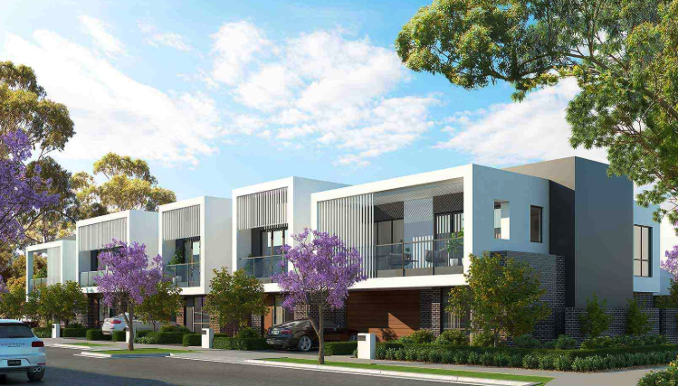 Construction kicked-off on the first apartments of the $400 million Glenside development in Adelaide earlier this year.
