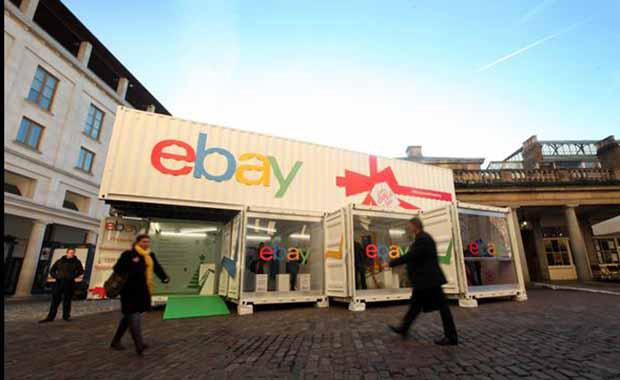 eBay pop up shop