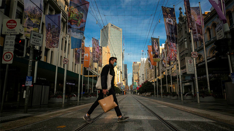 ▲ Major corporate tenants across Melbourne are considering whether they give up space permanently, with more staff expected to work from home more often.