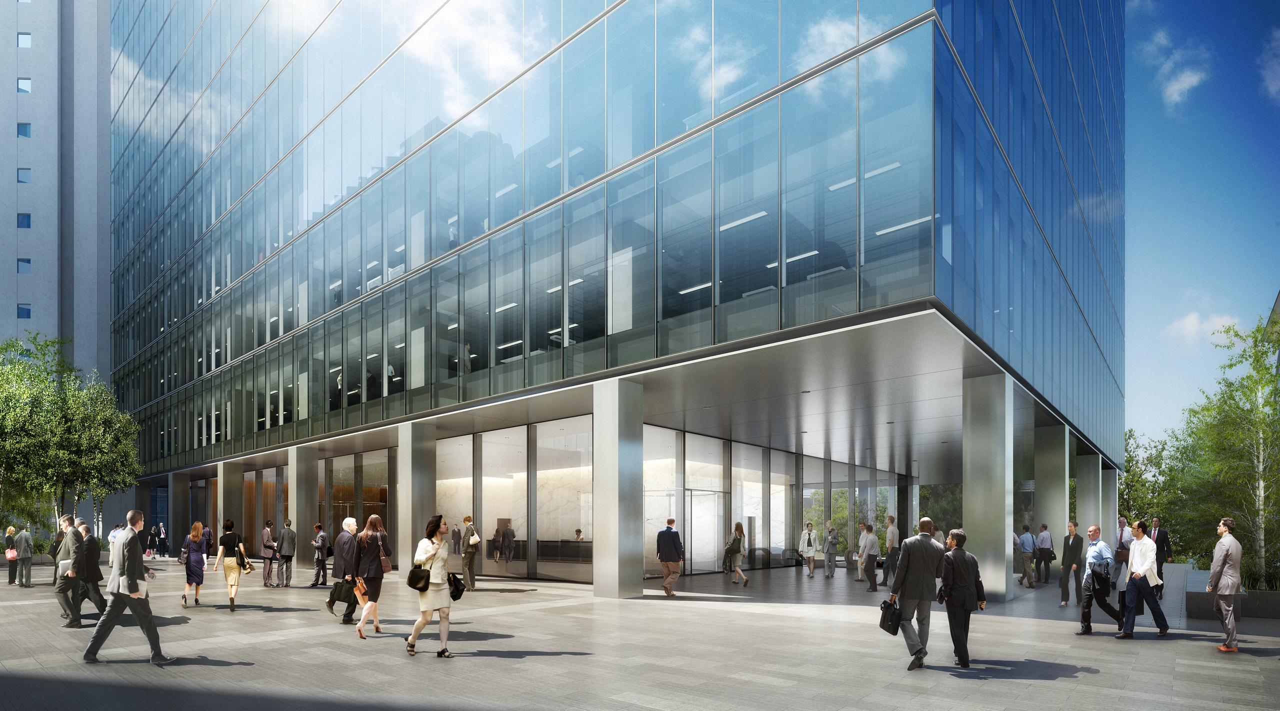 Brookfield Place Tower 2, Perth, Australia by Brookfield Property Partners.