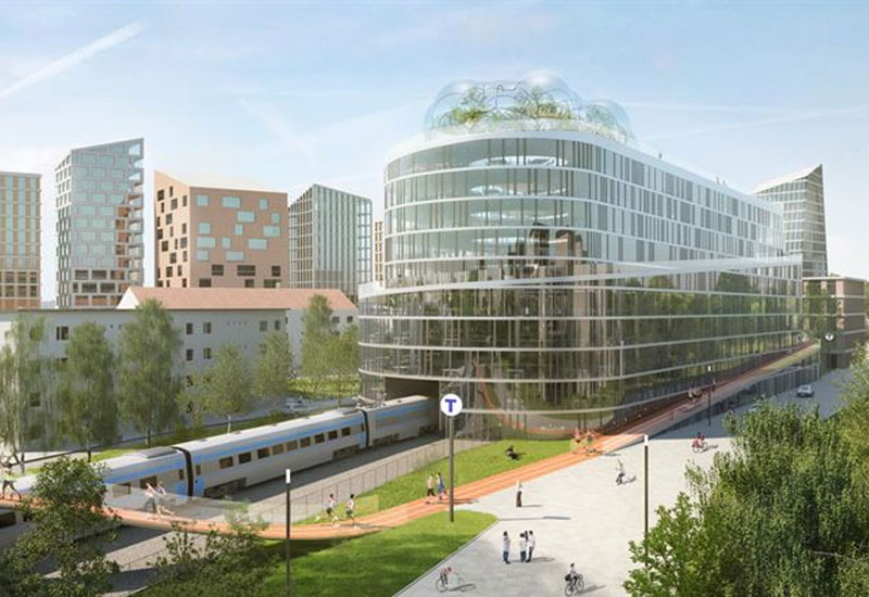 Regeneration & Masterplanning Stockholm Loop Belatchew Arkitekter