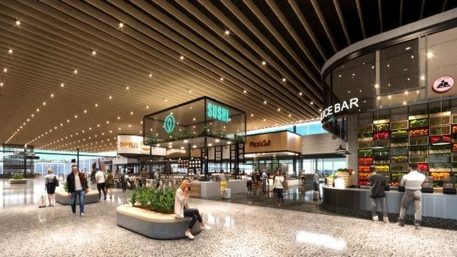 The $165 million extension will offer a new food and beverage precinct.