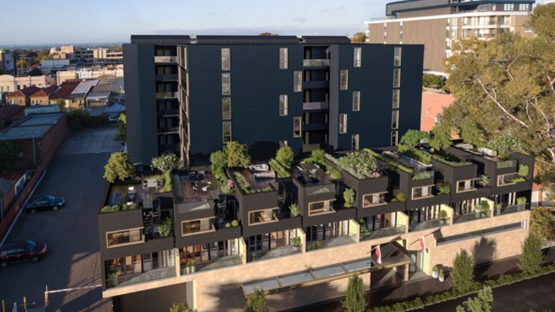 ▲ Sydney developer Deicorp and the Ashfield Polish Club have lodged a development application for 91 residential apartments and a new 1850sq m club in Ashfield in Sydney's inner-west.