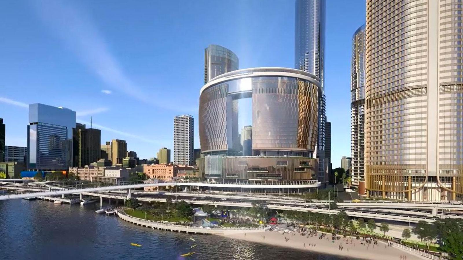 Major development projects Brisbane Queens Wharf