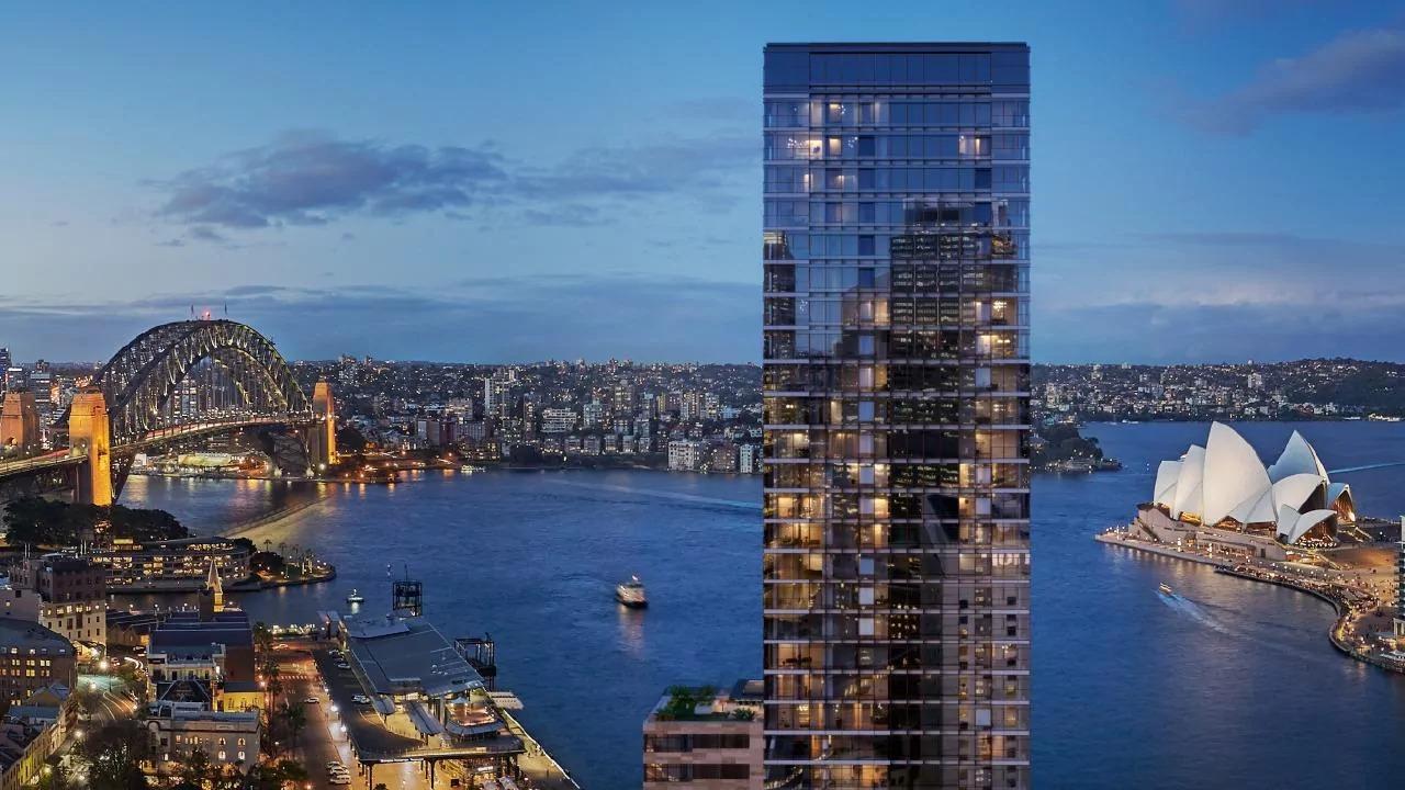 An artist's impression of One Circular Quay Sydney development.